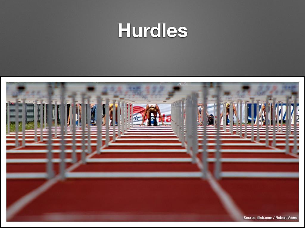 Hurdles Source: flick.com / Robert Voors
