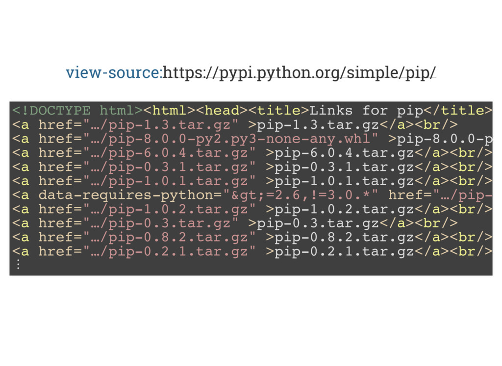 view-source:https://pypi.python.org/simple/pip/...