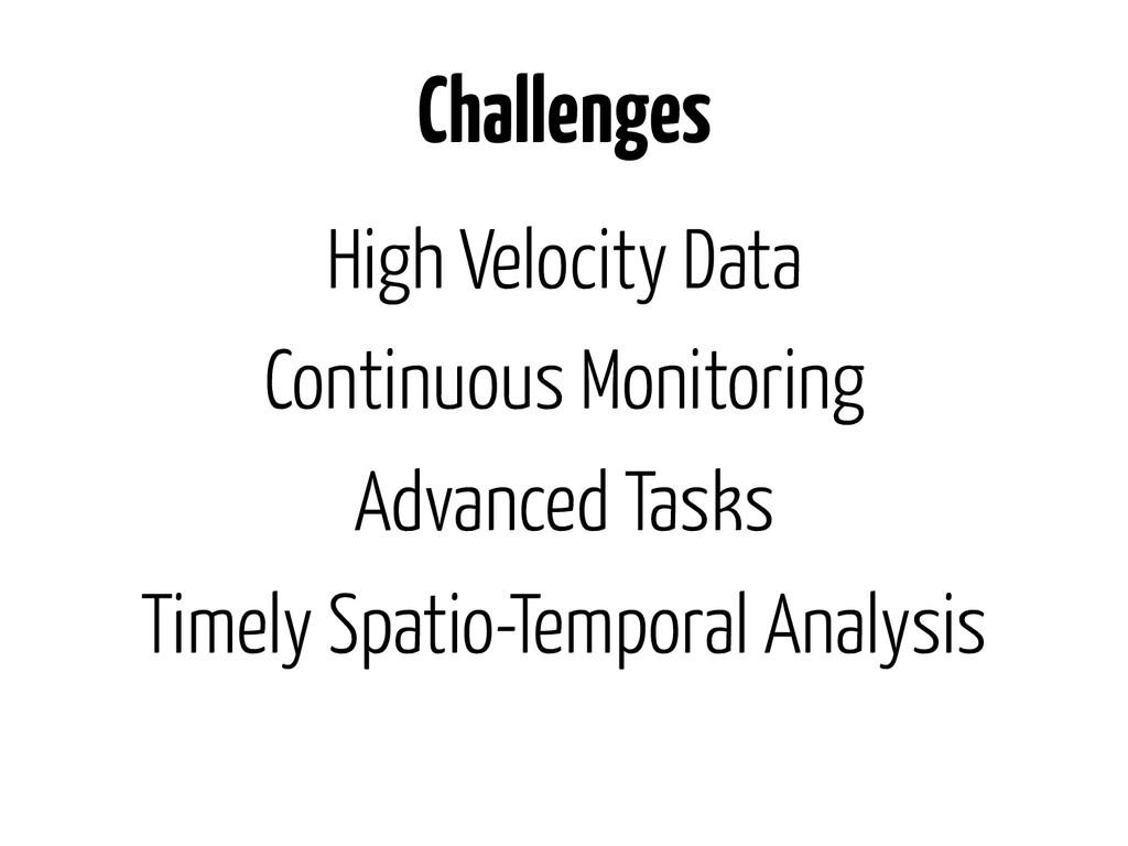 High Velocity Data Continuous Monitoring Advanc...