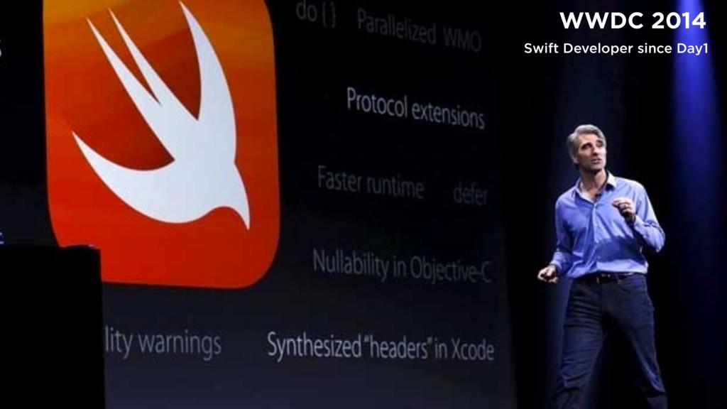 γΰτͰίίϩΦυϧ WWDC 2014 Swift Developer since Day1