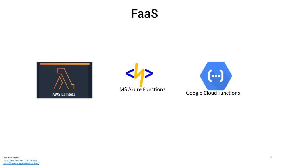 < > MS Azure Functions Google Cloud func?ons Cr...