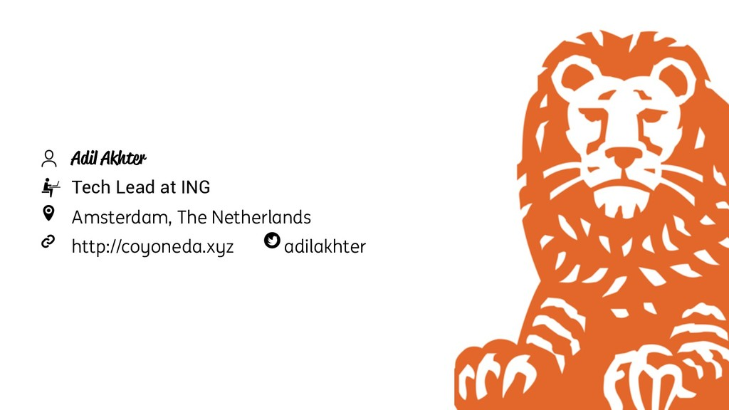 73 Adil Akhter Tech Lead at ING Amsterdam, The ...