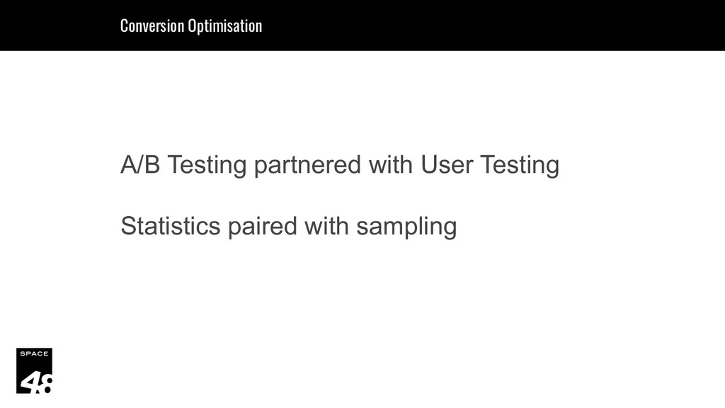 A/B Testing partnered with User Testing Statist...