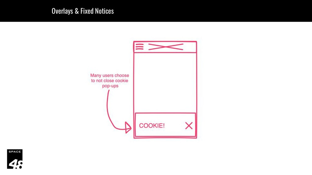 Overlays & Fixed Notices