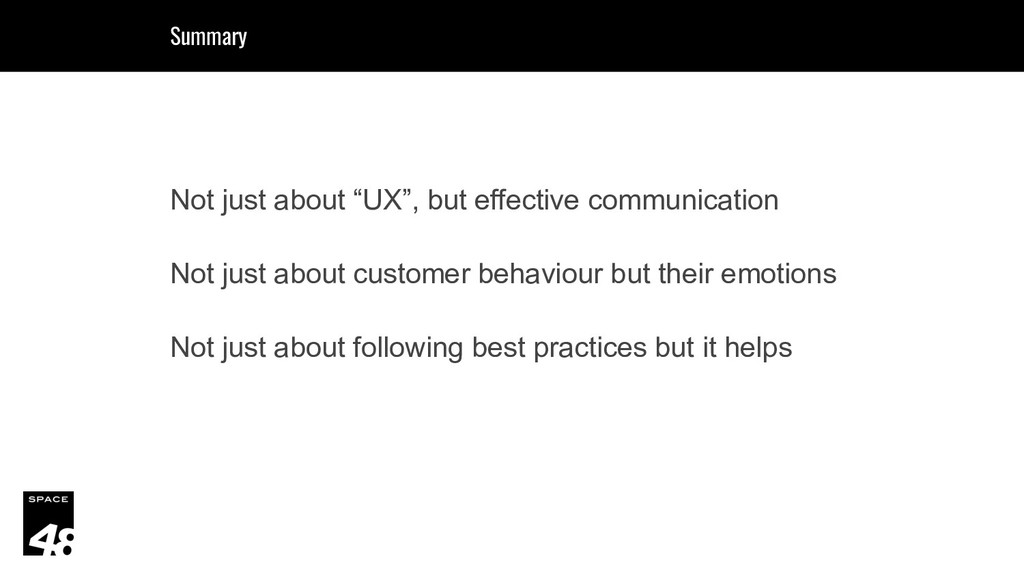 """Not just about """"UX"""", but effective communicatio..."""