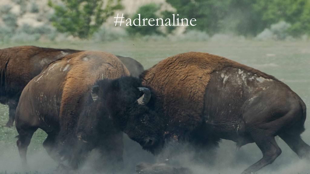 #adrenaline