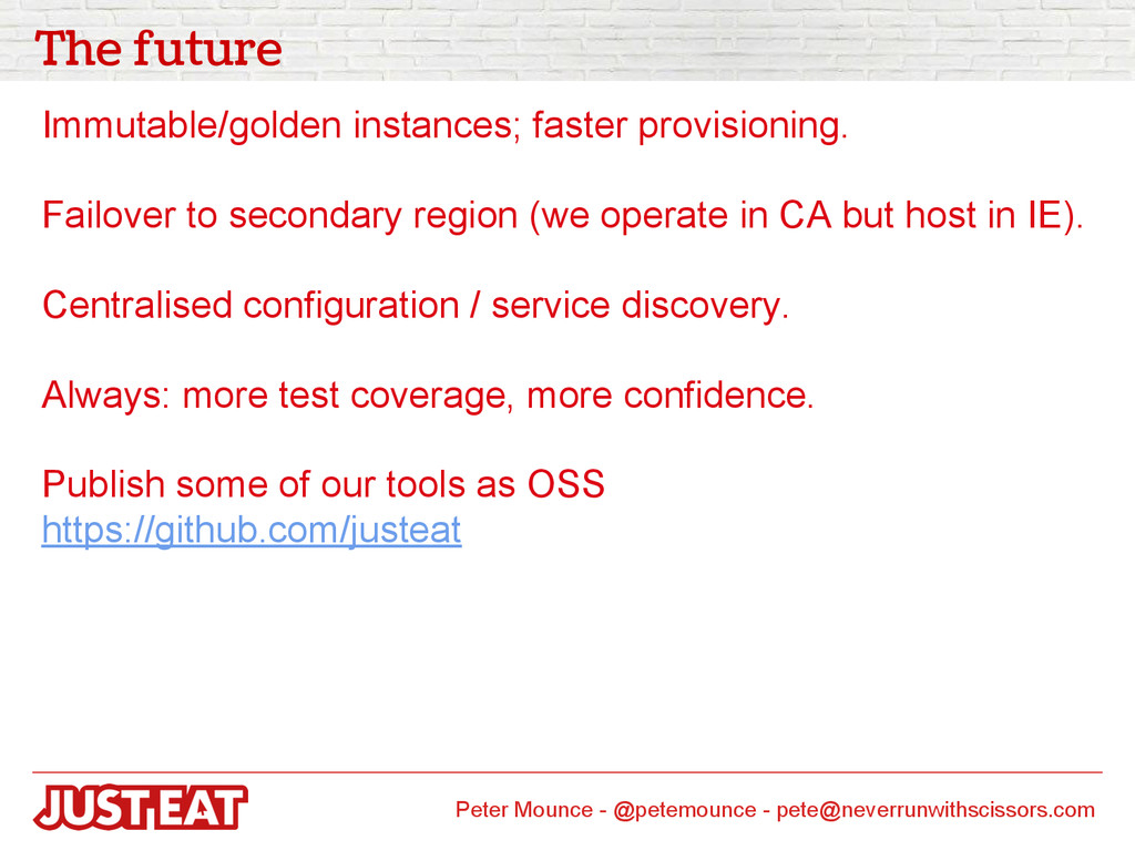 The future Immutable/golden instances; faster p...