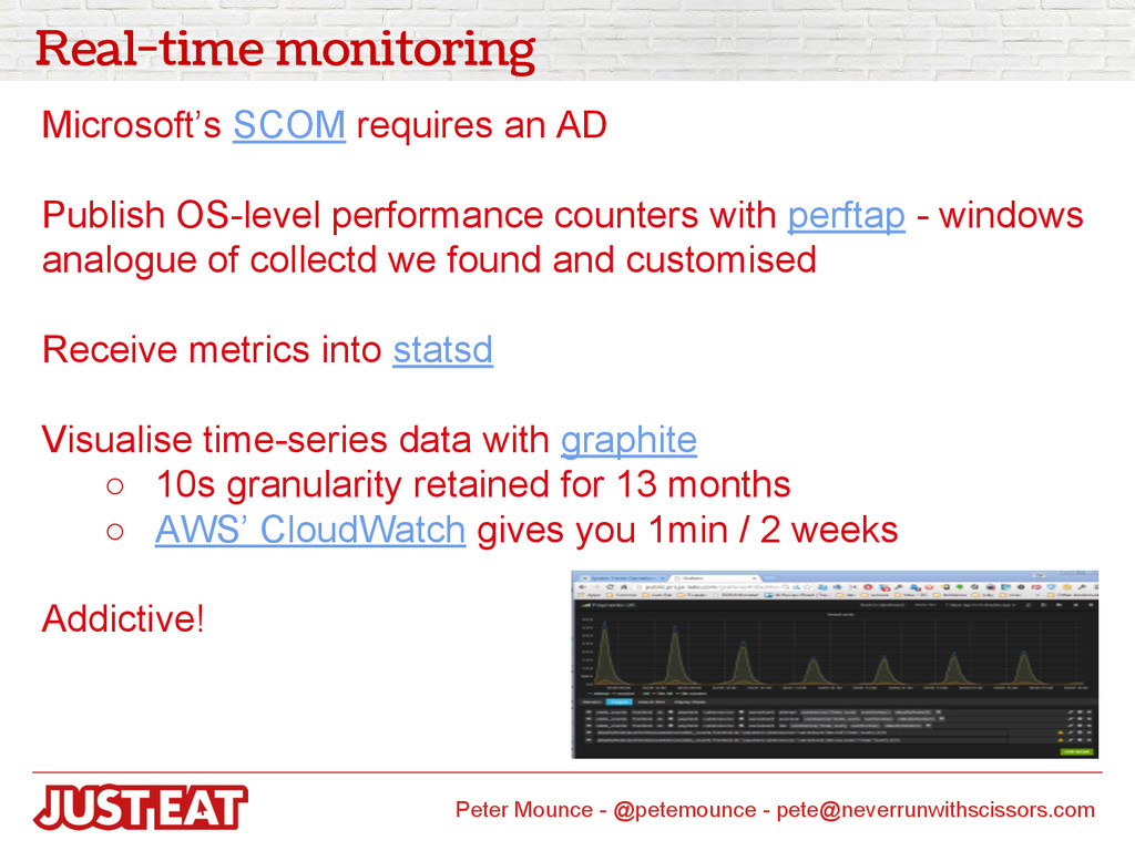 Real-time monitoring Microsoft's SCOM requires ...