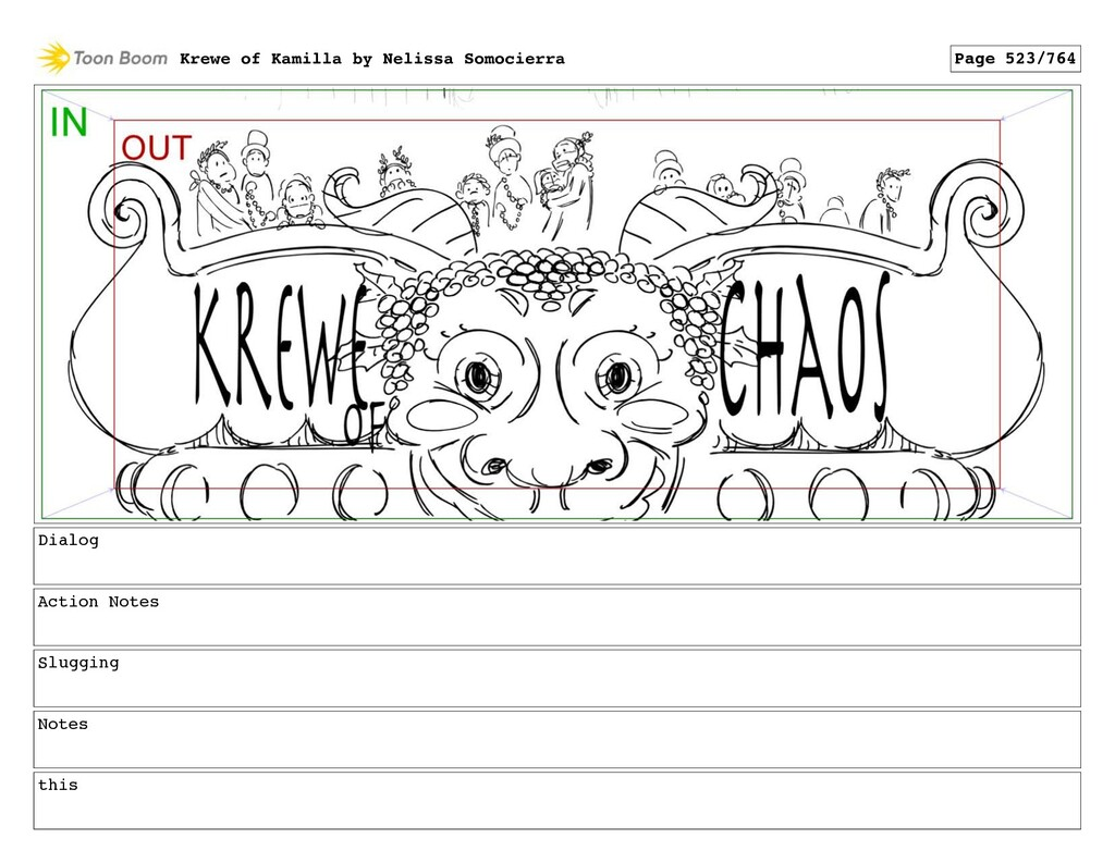 Dialog Action Notes Slugging Notes this Krewe o...