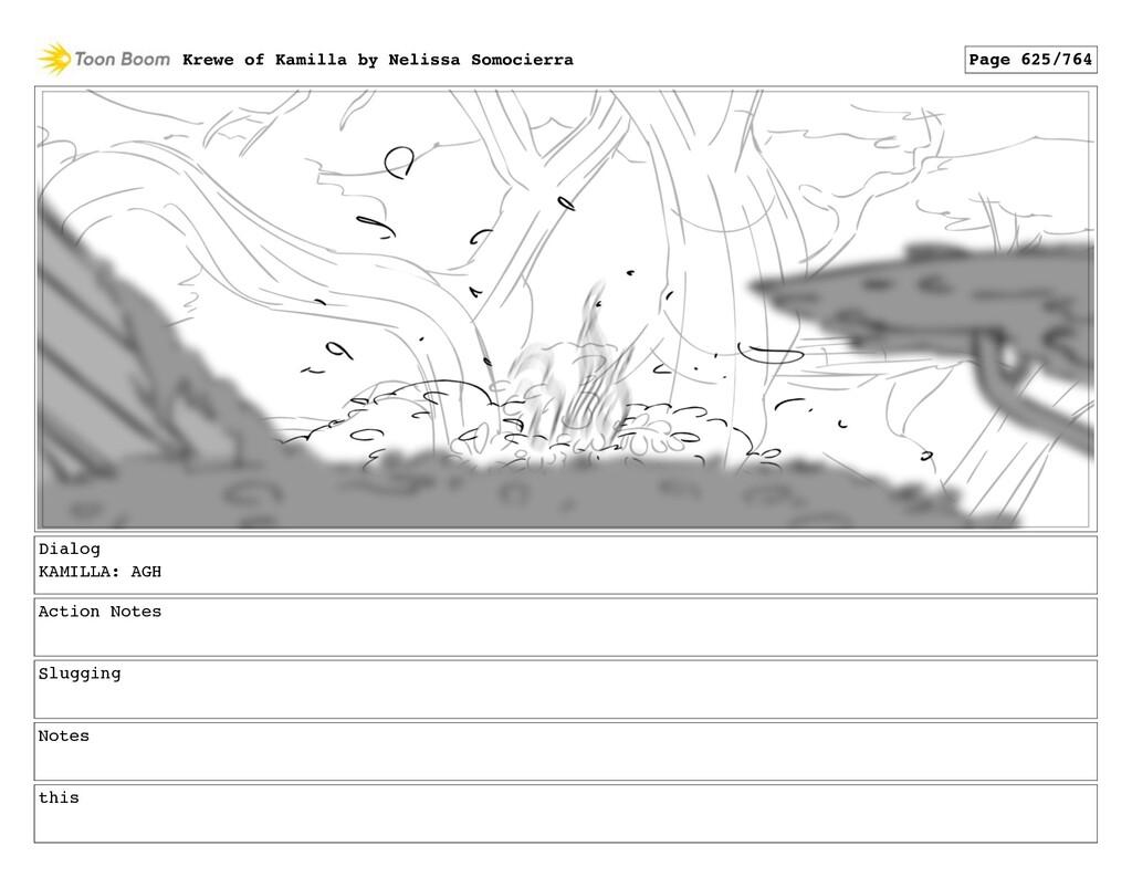Dialog KAMILLA: AGH Action Notes Slugging Notes...