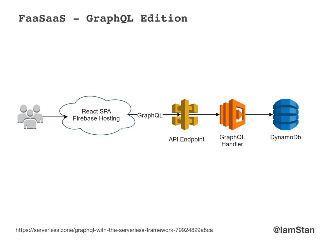 @IamStan FaaSaaS - GraphQL Edition https://serv...