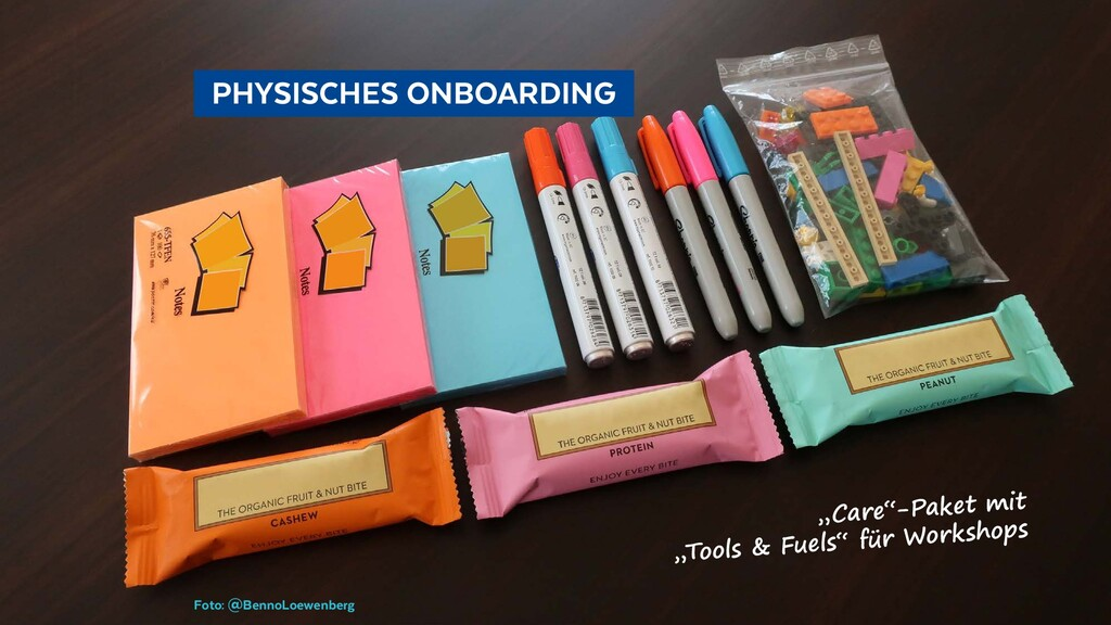 PHYSISCHES ONBOARDING Foto: @BennoLoewenberg...