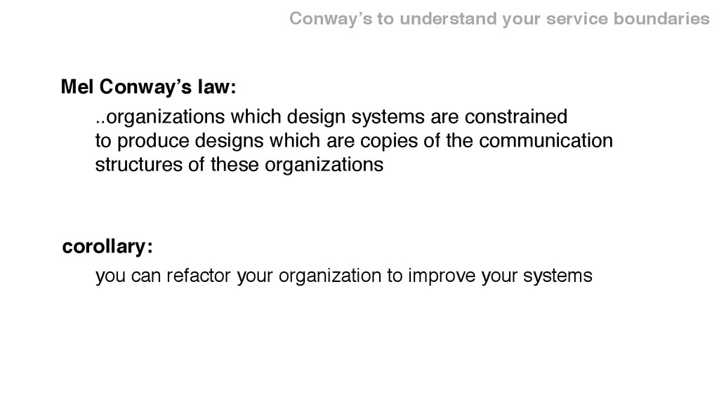 ..organizations which design systems are constr...