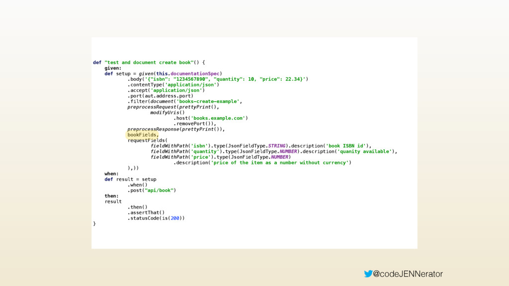 """@codeJENNerator def """"test and document create b..."""