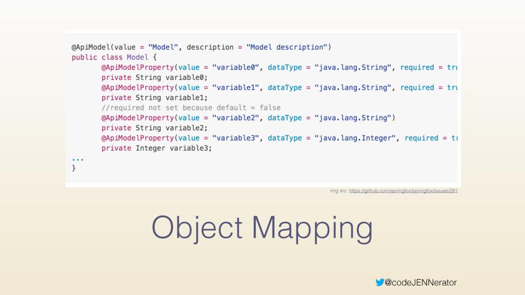 @codeJENNerator Object Mapping img src: https:/...