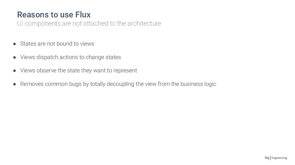 Reasons to use Flux UI components are not attac...