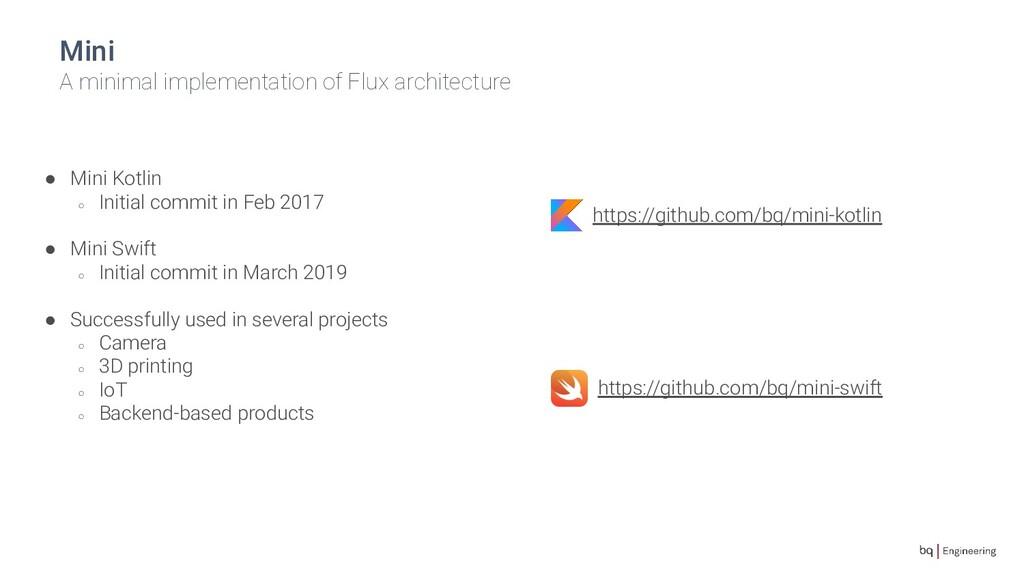 Mini A minimal implementation of Flux architect...