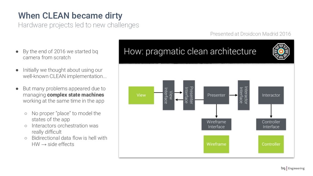 When CLEAN became dirty Hardware projects led t...