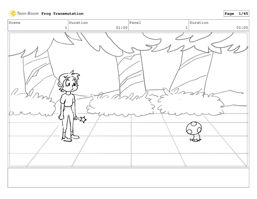 Scene 1 Duration 01:00 Panel 1 Duration 01:00 F...