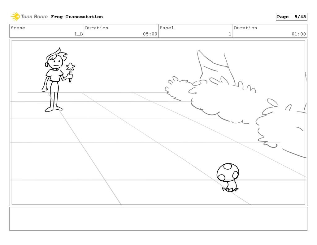 Scene 1_B Duration 05:00 Panel 1 Duration 01:00...