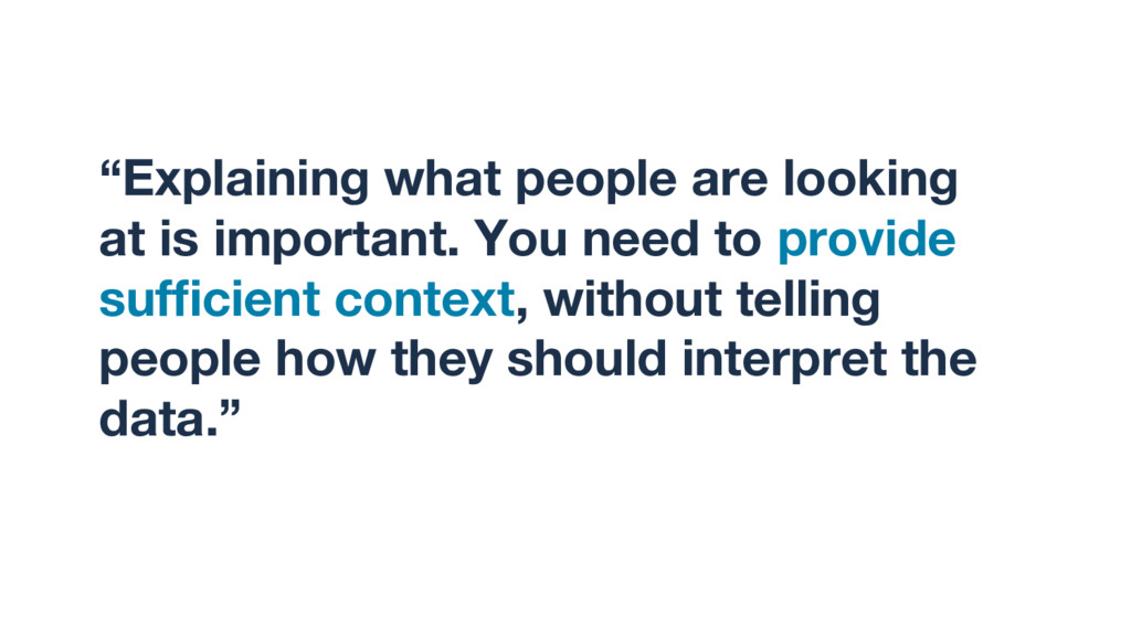 """""""Explaining what people are looking at is impor..."""