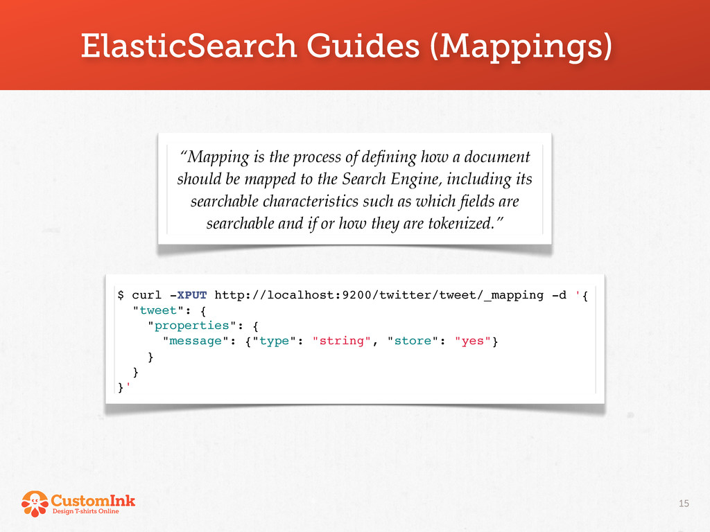 """ElasticSearch Guides (Mappings) 15 """"Mapping is ..."""