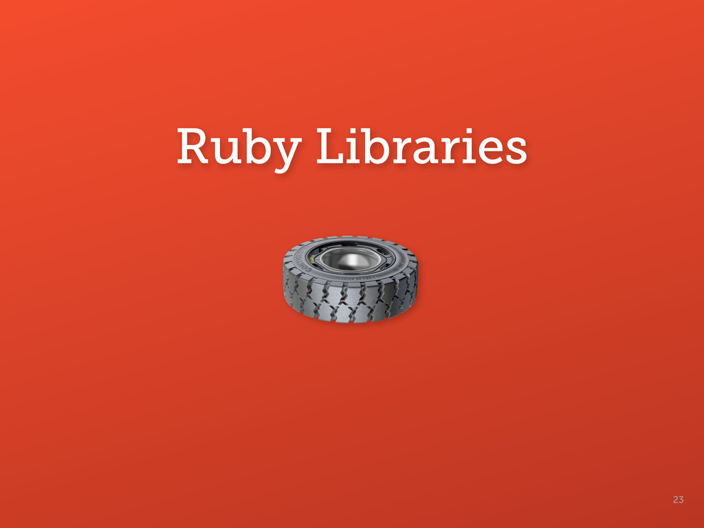 23 Ruby Libraries