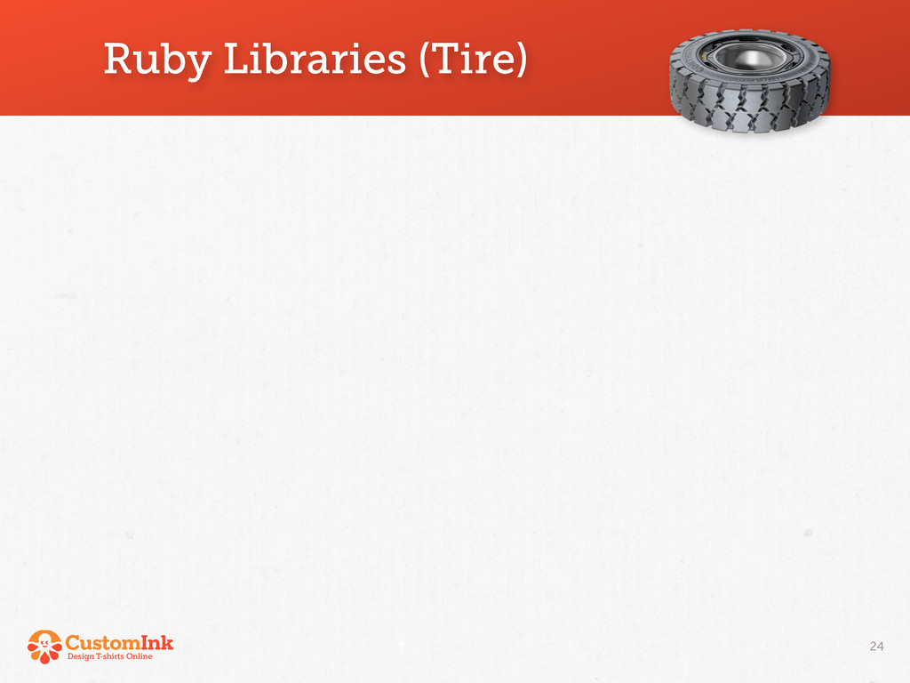 Ruby Libraries (Tire) 24