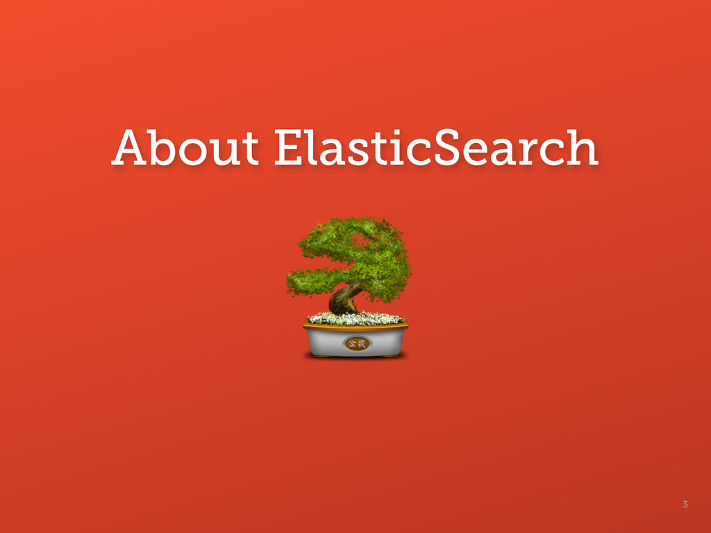 3 About ElasticSearch