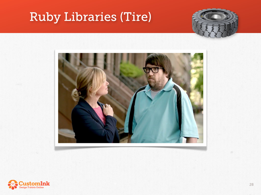 Ruby Libraries (Tire) 28