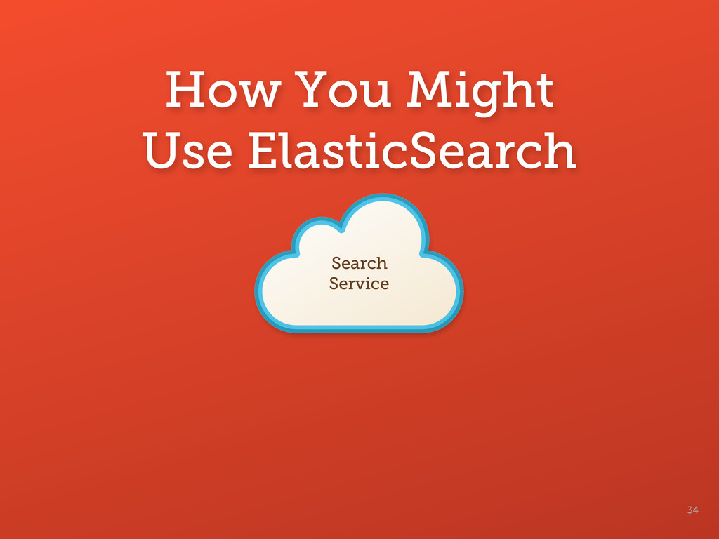 How You Might Use ElasticSearch 34 Search Servi...