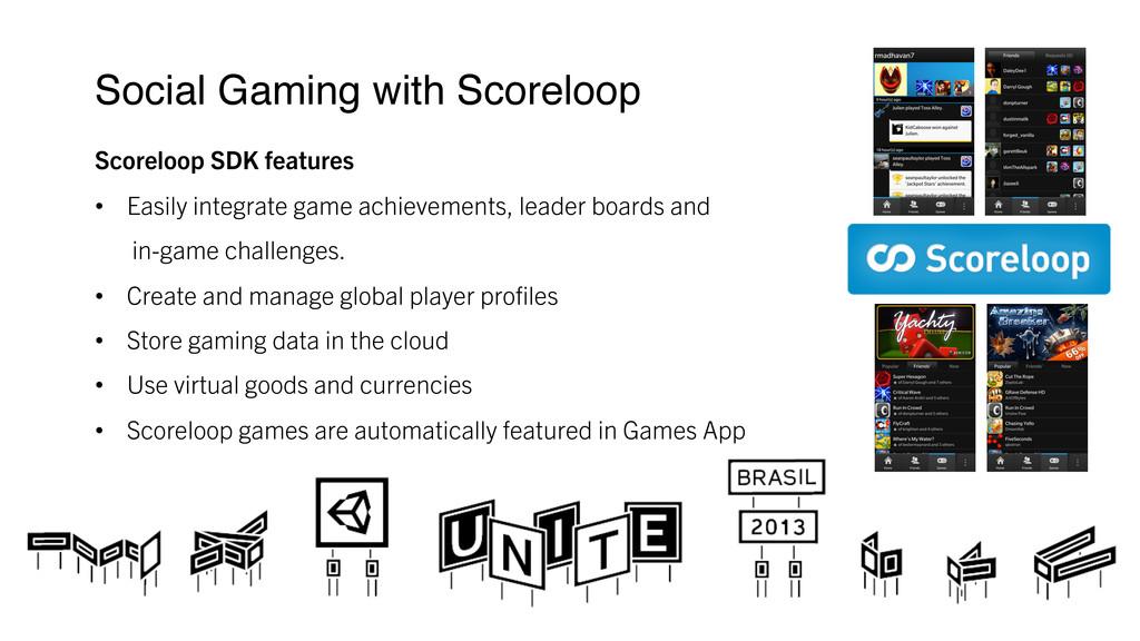 Social Gaming with Scoreloop ! Scoreloop SDK f...