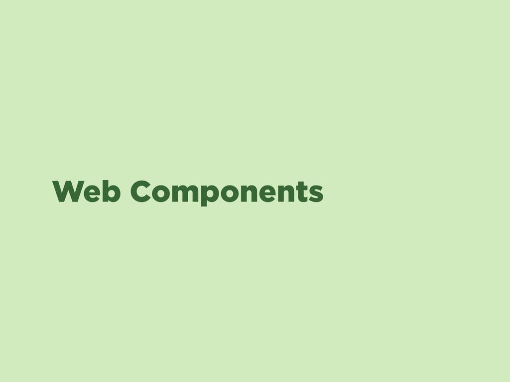 Web Components