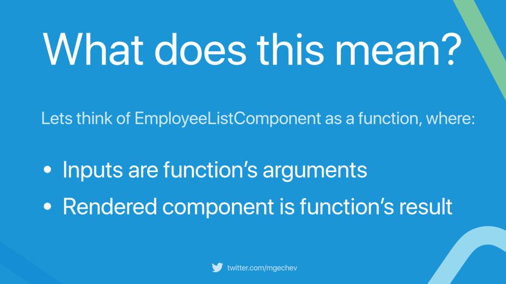 twitter.com/mgechev Lets think of EmployeeListC...