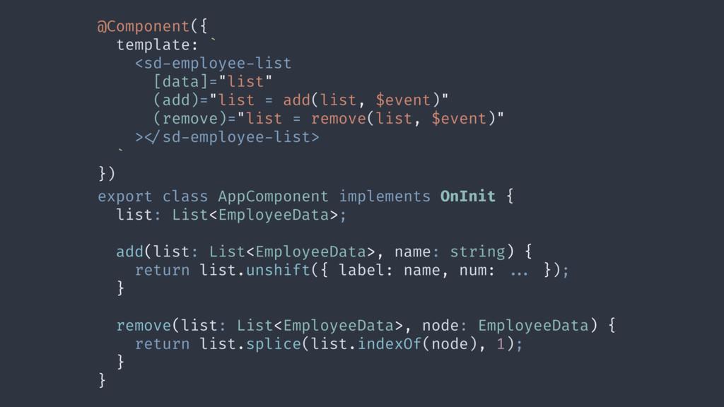 @Component({ template: ` <sd-employee-list [dat...
