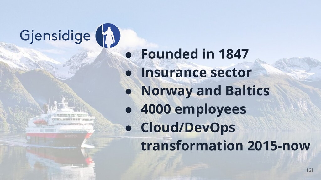 ● Founded in 1847 ● Insurance sector ● Norway a...