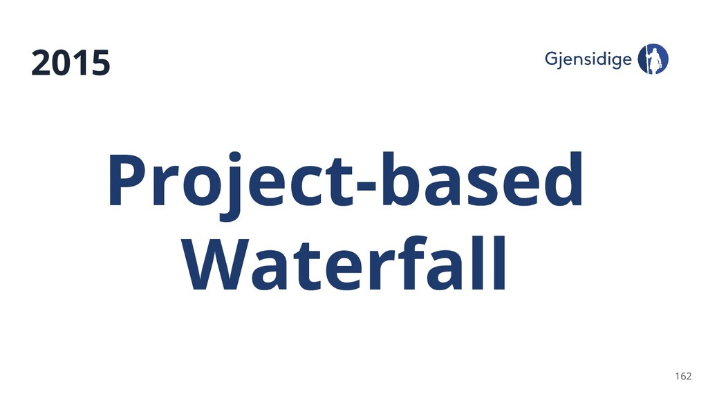 2015 162 Project-based Waterfall