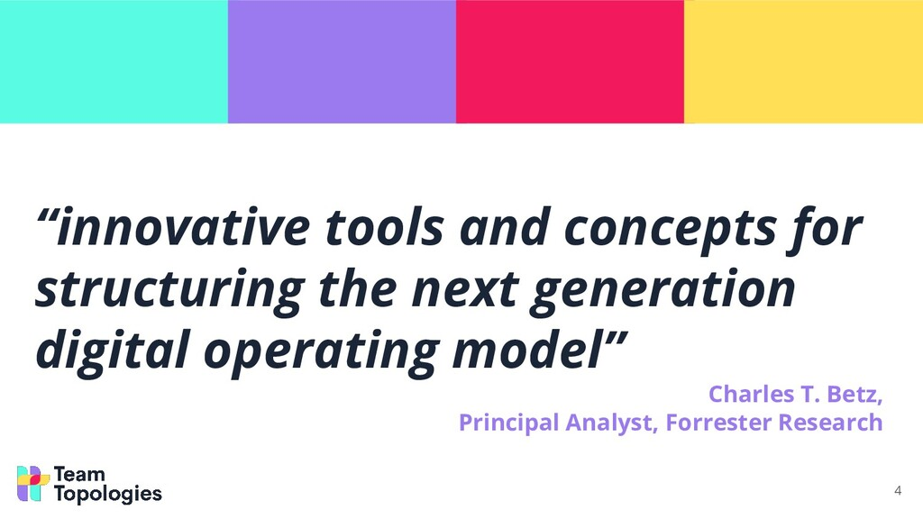 """""""innovative tools and concepts for structuring ..."""