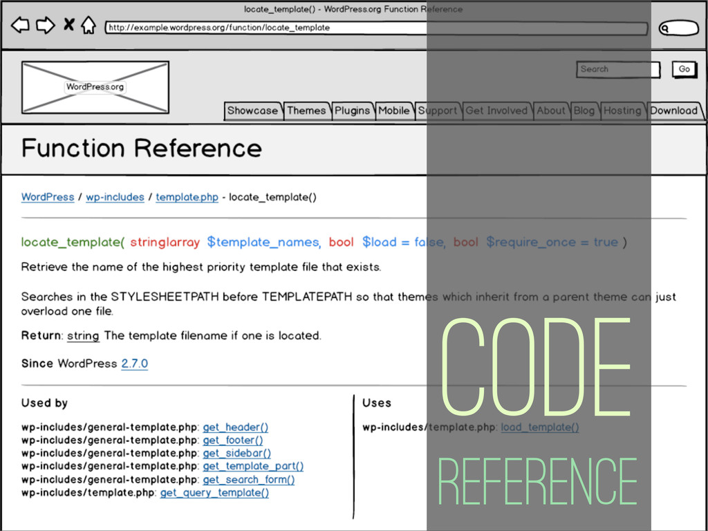 Code Reference