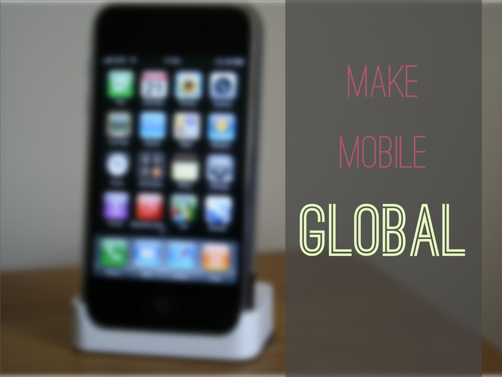 Translate the Mobile Apps Make Mobile Global