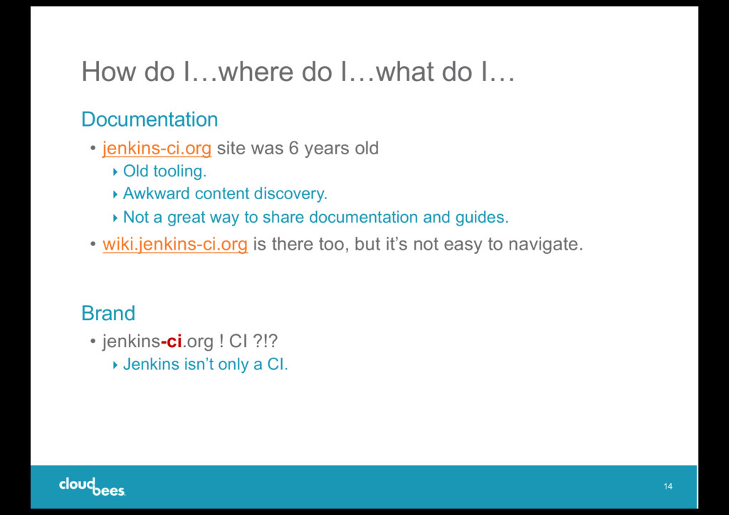 How do I…where do I…what do I… Documentation • ...
