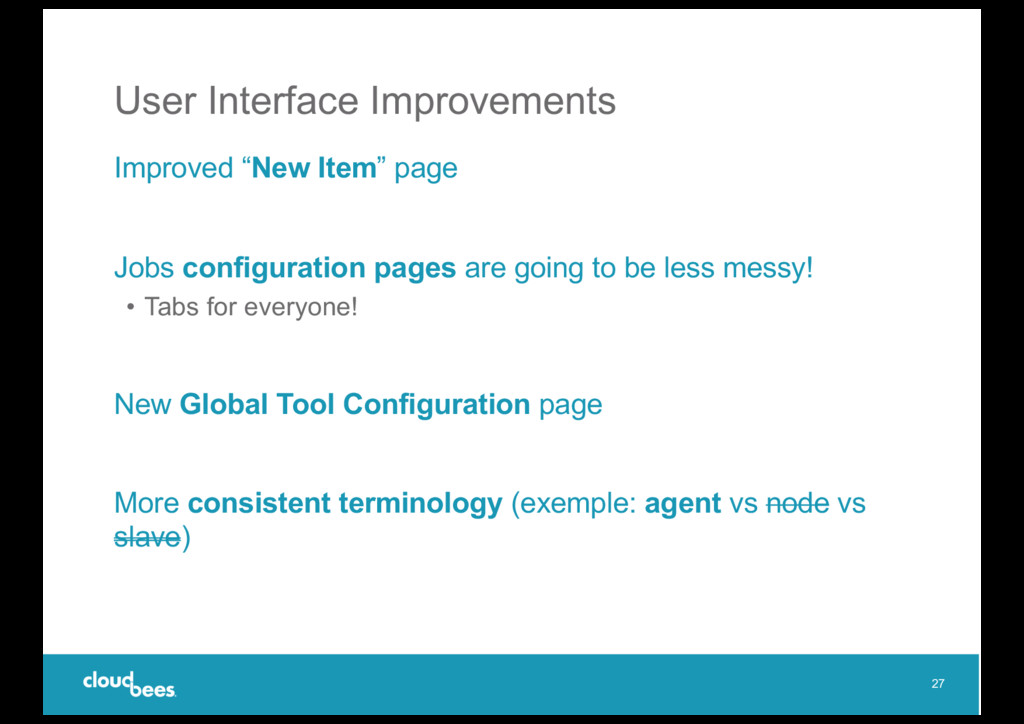 """User Interface Improvements Improved """"New Item""""..."""