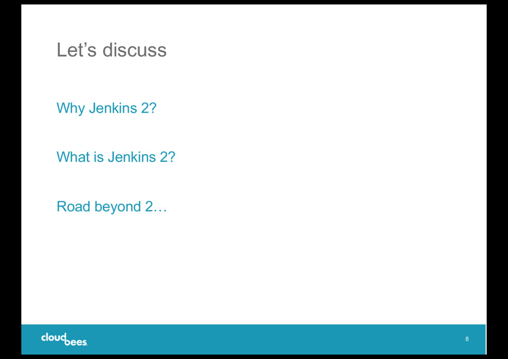 Let's discuss Why Jenkins 2? What is Jenkins 2?...
