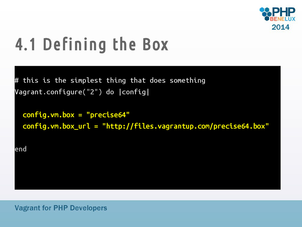 4.1 Defining the Box # this is the simplest thi...