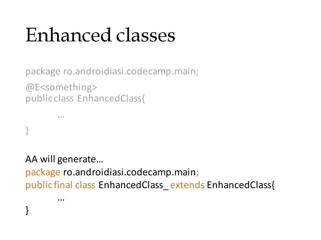 Enhanced classes package ro.androidiasi.codecam...