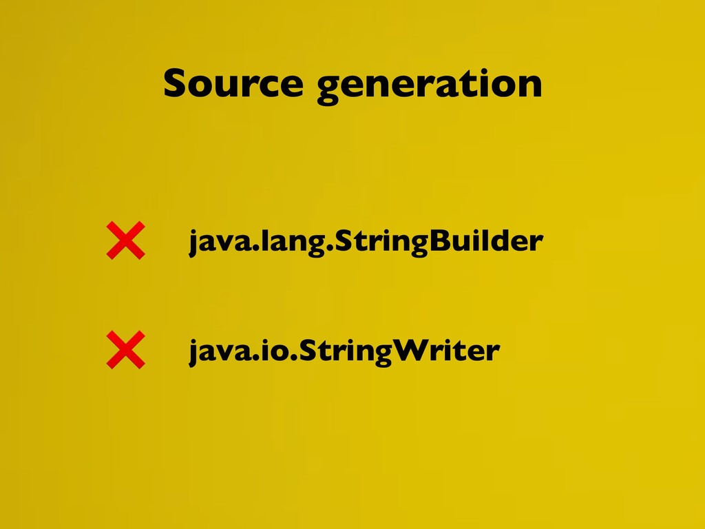java.lang.StringBuilder java.io.StringWriter So...