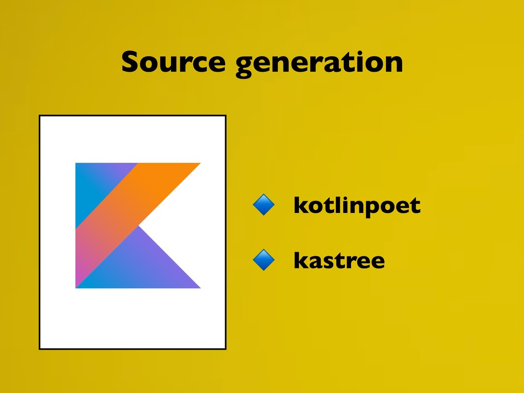 kotlinpoet kastree Source generation