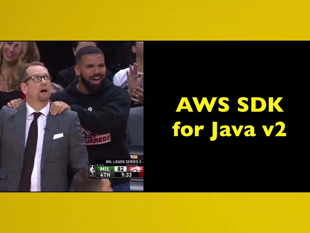 AWS SDK for Java v2