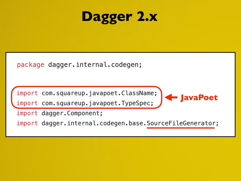 JavaPoet Dagger 2.x