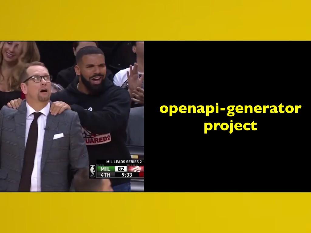 openapi-generator project